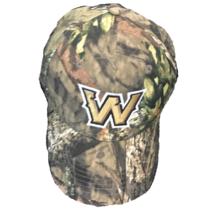 """Camo """"W"""" Hat"""